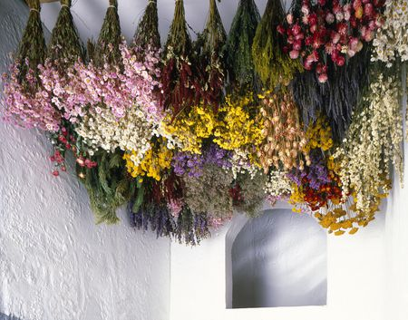 dried-flowers-hanging-from-ceiling-93190841-5a71f7591d6404003745a2d9